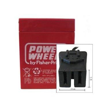 Power Wheels Battery 6 Volt Type A Connector