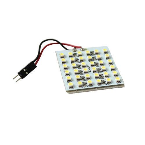 Whitesnowing T10 36 Smd 1210Led Panel Light Bulb Dome White 12V Adapter