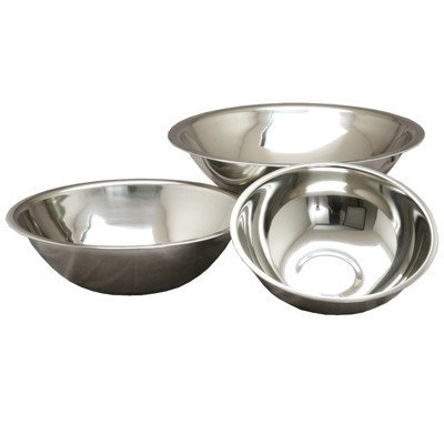 Ybmhome Deep Heavy Duty Quality Stainless Steel Mixing Bowls for Cooking Baking Serving and Mixing - Set of 3 (3 qt 5 qt and 8 qt) 1174-1175-1176set (Deep Freezer Stand Up compare prices)