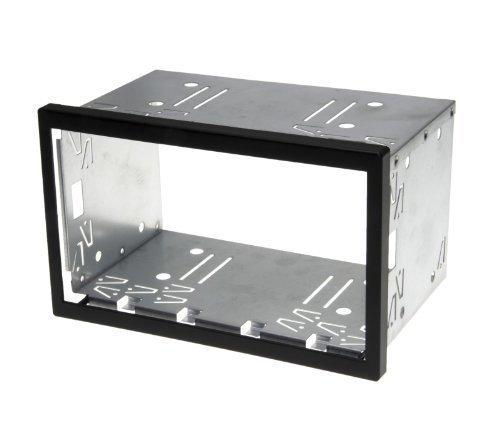 Doppel DIN ISO 110mm Auto Radio Blende Halterung Schacht Rahmen universal Metall universal Metall
