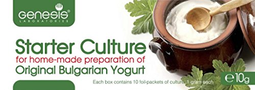 Bulgarian Starter Culture for Traditional Yogurt - natural - up to 50 liters (Yogurt Starter Culture Organic compare prices)