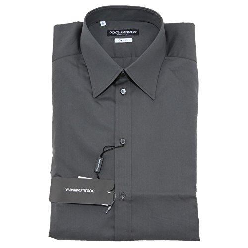 2529L camicia uomo DOLCE&GABBANA D&G gold manica lunga shirts men [43 (17)]