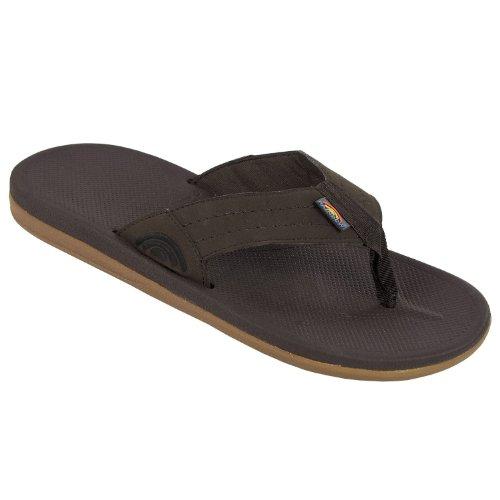 Rainbow Sandals Kids Cape Flip-Flops - Dark Brown 2-3
