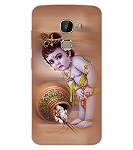 ColourCraft Lord Bal Gopal Design Back Case Cover for LeEco Le 2 Pro