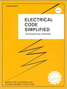 ontario electrical code simplified residential wiring. Black Bedroom Furniture Sets. Home Design Ideas