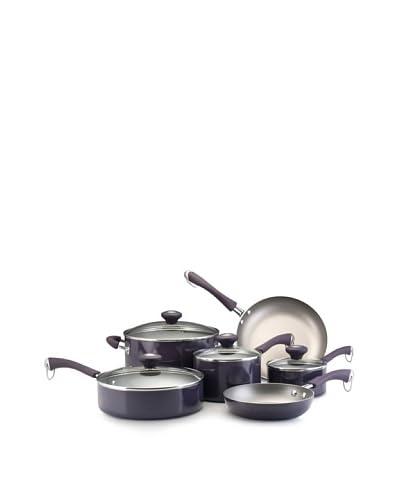 Paula Deen Traditional Porcelain 10-Piece Set  [Purple]
