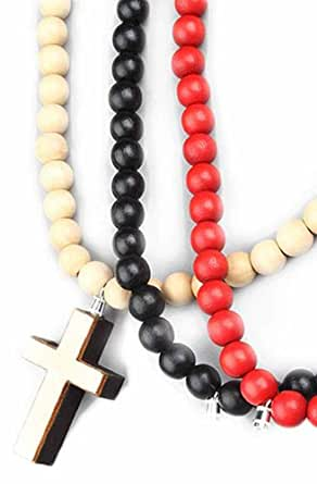 GoodWood The Interchangeable Cross Necklace in Multi