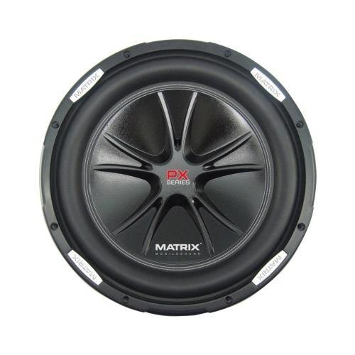 Matrix Px12Dvc Car Subwoofer 12& 1000 Watts Dual Voice Coil (Peerless Industries Px12Dvc)