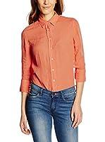 Fred Perry Camisa Mujer (Naranja)