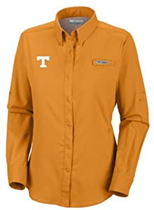 NCAA Tennessee Volunteers Ladies Collegiate Tamiami II Long Sleeve Shirt by Columbia