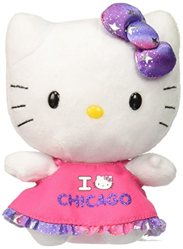 Ty Beanie Babies Hello Kitty Plush, Chicago - 1