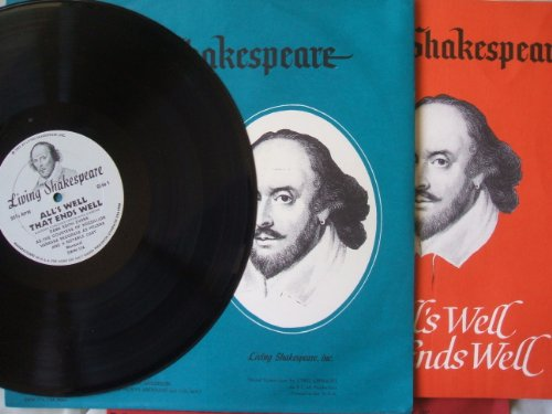 LIVING SHAKESPEARE- ALL'S WELL THAT ENDS WELL- MODERN CONDENSED PERFORMANCE (Shakespeare Condensed compare prices)