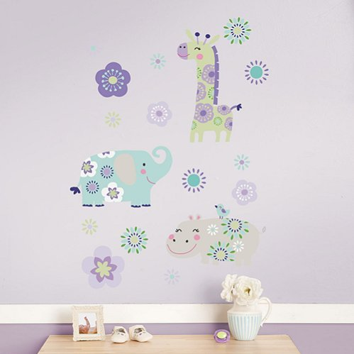 Zoo Garden Wall Decals