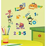(10x18) Team Umizoomi Peel & Stick Wall Decals