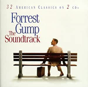 Forrest Gump: The Soundtrack - 32 American Classics On 2 CDs by Various Artists (1994) - Soundtrack