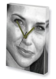CLAIRE FORLANI - Canvas Clock (LARGE A3 - Signed by the Artist) #js001