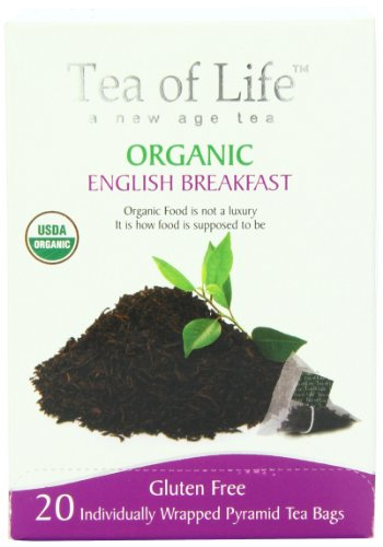 Tea Of Life Organic English Breakfast, 20 Count