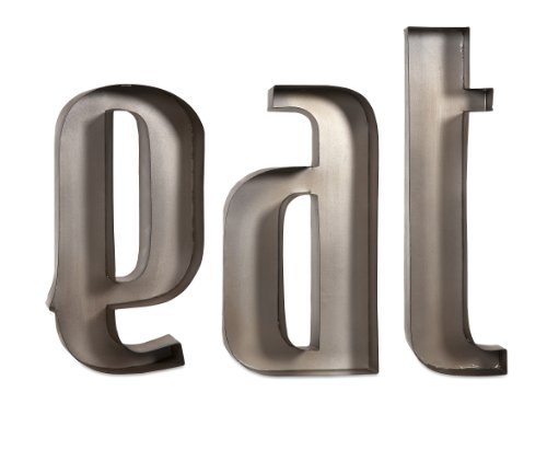 IMAX  IMX-88439 Eat Metal Wall Letters (Eat Letters For Kitchen compare prices)
