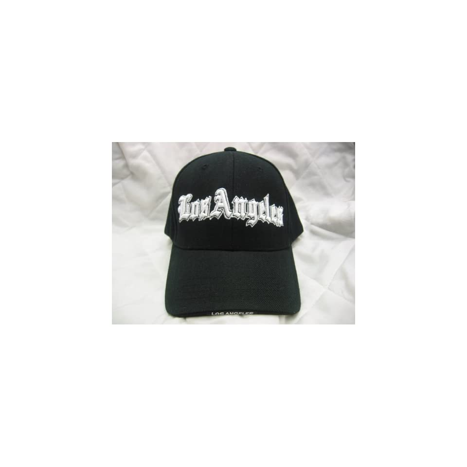 f98ae6487798b Los Angeles HAT CAP BLACK HATS on PopScreen