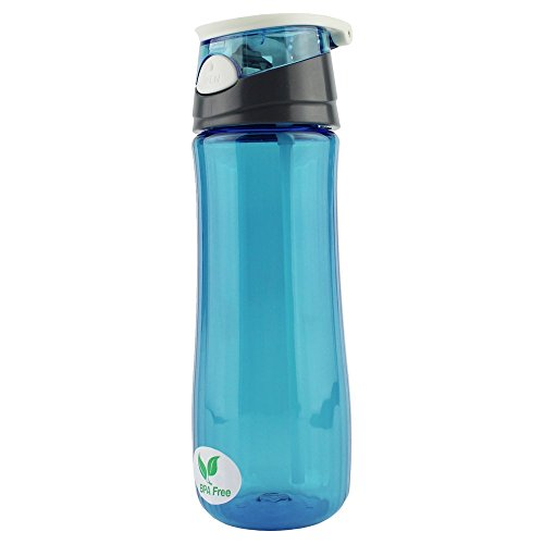 Ezyoutdoor 550 ML Blue Portable Transparency Plastic Bottle For Outdoor Sport Travel Cycling Camping Hiking (Vaporizer Bowl Attachment compare prices)