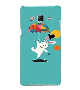 EPICCASE Jumping Rabbit Mobile Back Case Cover For Samsung Tizen Z3 (Designer Case)