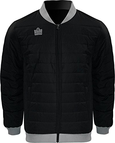 Admiral Stockton Soccer Sideline Rain/Cold Jacket, Black, Adult XX-Large