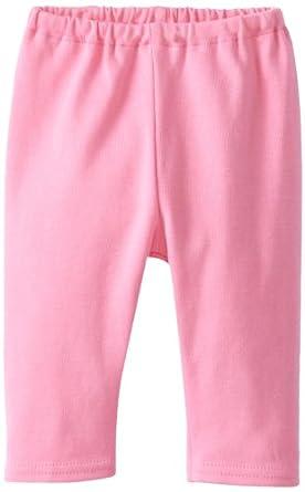 Zutano Unisex-Baby Newborn Primary Solid Pant, Hot Pink, 3 Months