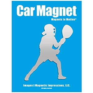 Buy Lacrosse Goalie Female Car Magnet by Magnets In Motion®