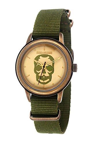 Zadig & Voltaire -Reloj de Pulsera, Analógico cuarzo, Nailon, Unisex