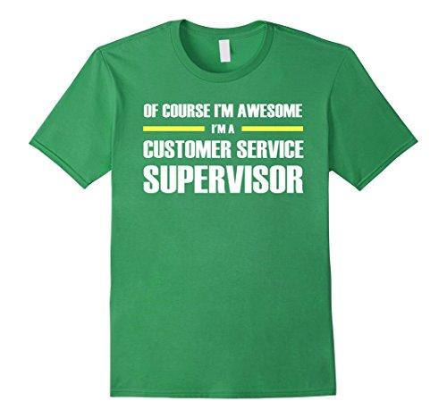 Men's Customer Service Supervisor Shirts I'm Awesome T-Shirt Large Grass (Customer Service Shirt compare prices)
