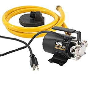 Wayne PC2 115-Volt 340 GPH Portable Transfer Water Pump, Bronze from Wayne Water Systems