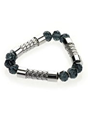 M&S Collection Metal Bar Stretch Bracelet