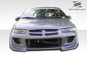 1995-2000 Dodge Stratus Chrysler Cirrus Plymouth Breeze Duraflex Blits Front Bumper Cover - 1 Piece
