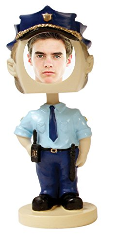 Policeman Photo Bobble Head