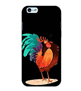 Funny Cock Cartoon 3D Hard Polycarbonate Designer Back Case Cover for Apple iPhone 6s Plus :: Apple iPhone 6s+