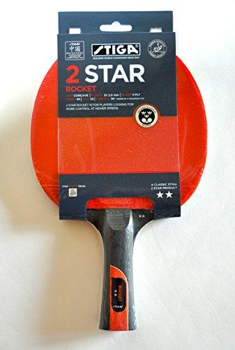 Stiga-Racchetta da 2 Rocket ping pong
