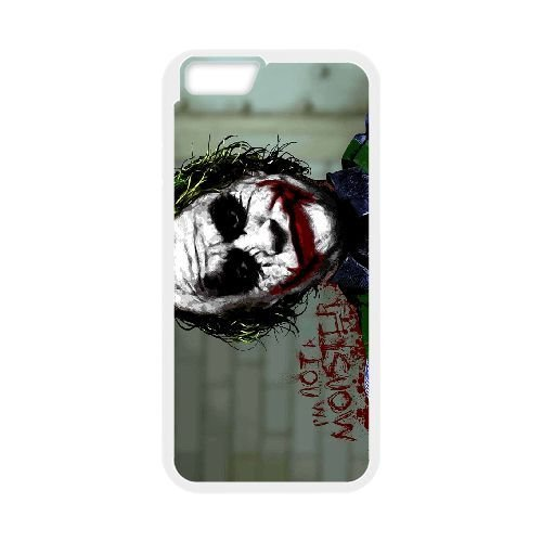 Personalized Durable Cases iPhone 6 Plus 5.5 Inch White Phone Case Gvopq Joker Heath Ledger Protection Cover