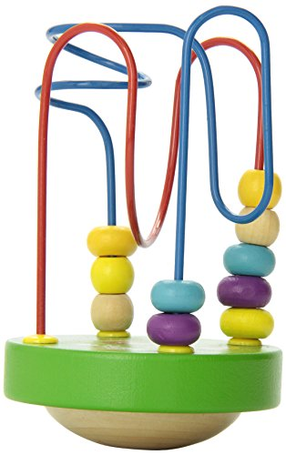 Manhattan Toy Wobble-A-Round Beads, Green