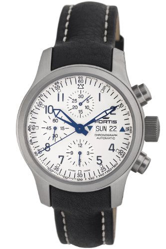 Fortis Men's 635.10.12 L.01 B-42 Flieger Automatic Chronograph Watch