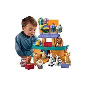 Fisher-Price Little People Noah's Ark with Extra Animals