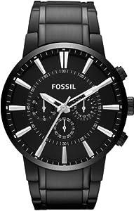 Fossil Black Dial Men's Quartz Watch - FS4778