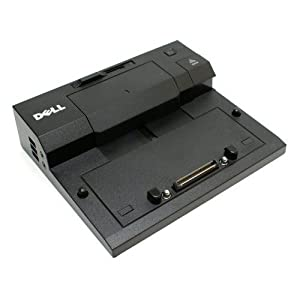 Dell Laptop Notebook E/Port Replicator Docking Station PR03X with Power Adapter PA-4E For Dell E Series Laptop/Notebooks