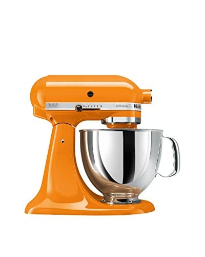 KitchenAid Artisan 5-Qt. Series Stand Mixer with Pouring Shield, Tangerine