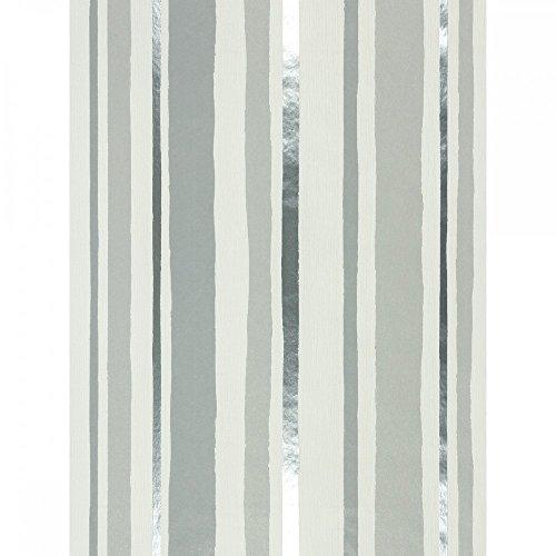 rasch homestyle city 886214 vliestapete streifen wei grau silber. Black Bedroom Furniture Sets. Home Design Ideas