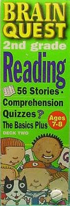 Brain Quest 2nd Grade Reading 56 Stories Comprehension Quizzes? Plus the Basics. Deck Two Ages 7-8 (Brain Quest Grade 2 Reading compare prices)