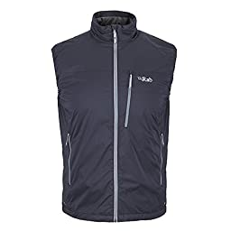 Rab Strata Vest - Men\'s-Ebony-Medium