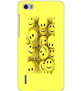 HUAWEI HONOR 6 SMILEYS Back Cover by PRINTSWAG