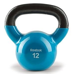 Reebok Kettlebell (12-Pounds, Blue Spark)