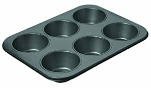 Chicago Metallic Non-Stick 6-Cup Giant Muffin Pan