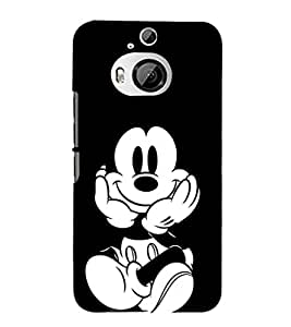 EPICCASE mickey mouse Mobile Back Case Cover For HTC One M9 Plus (Designer Case)